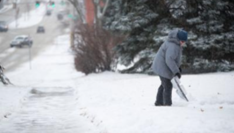 Shoveling Via Smartphone: Omahans Can Use Uber-Like Services For Snow Removal