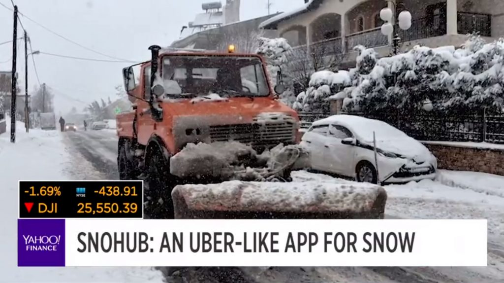 SnoHub Hopes To Disrupt The Multi-Billion Dollar Snow Removal Industry